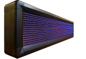 Led табло Бегущая строка P10 1040х240 мм синего свечения
