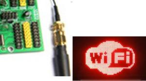 WiFi или LAN модуль для бегущей строки