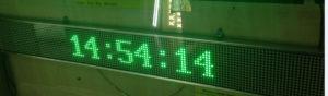 Led табло Бегущая строка P10 990х190 мм зелёного свечения